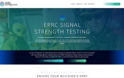 ERL Tech Website