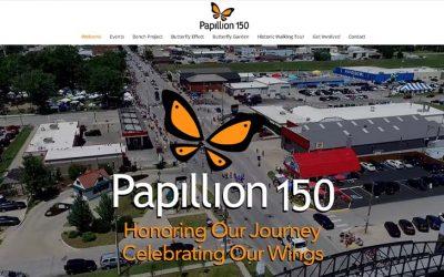 Papillion 150 Website